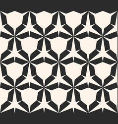 Seamless geometric pattern with hexagone vector