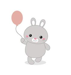 rabbit rabbit vector image