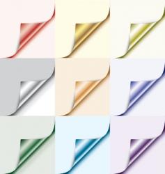 corner element vector image