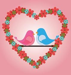 Romantic love design vector image