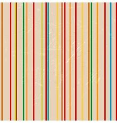 Striped grunge background vector image vector image