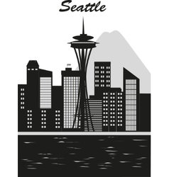 Seattle city vector image vector image