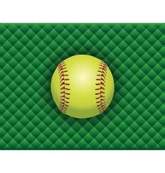 softball checkered background vector image vector image