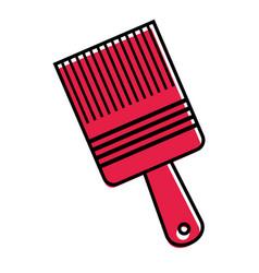 paint brush tool equipment renovation vector image