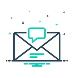 box message vector image