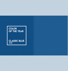 Classic blue color sample vector