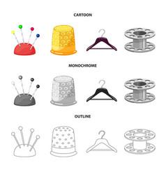 Design craft and handcraft sign set of vector
