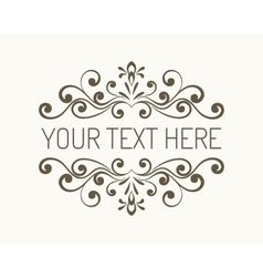 Hand drawn decorative border vector