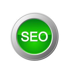 Seo button vector