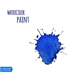 Watercolor Paint Splat vector