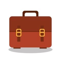 cartoon bag school icon design vector image