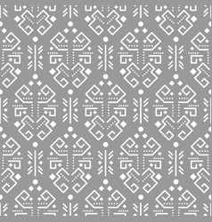 tribal ornament seamless pattern vector image