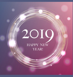 2019 new year banner vector image