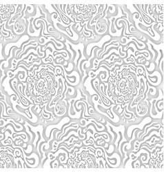 Abstract grayscale seamless texture organic forms vector