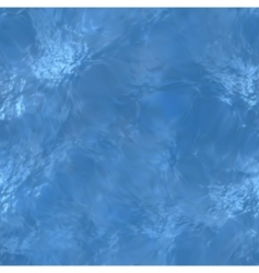 clear blue water sea floor vector image