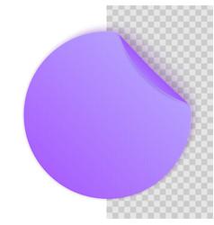 Creative of round adhesive vector