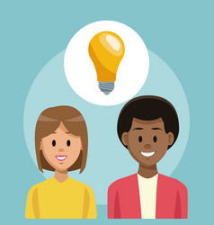 Friends with idea vector