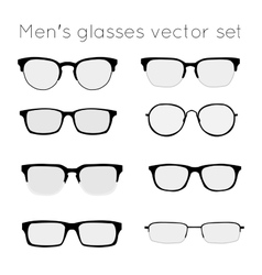 glasses 3 vector image