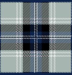 grey tartan plaid seamless pattern vector image
