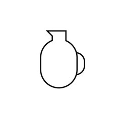 jar icon vector image