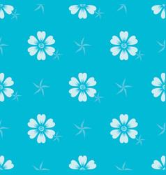 pattern 0085 flora ornament vector image