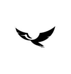 pigeon dove logo icon design vector image