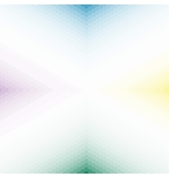 gradient background of colorful hexagons vector image