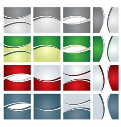 corporate business backgrounds vector image
