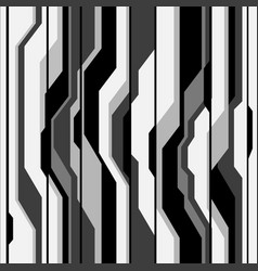 abstract gray black line cyber futuristic seamless vector image