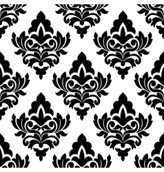 Bold damask style seamless pattern vector image