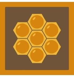 Icon image honeycomb 2 vector image
