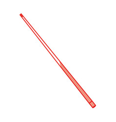 Isolated billiards stick vector
