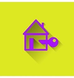Logo house protection housing vector