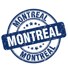 Montreal stamp vector