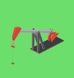 oil rig isometric vector image
