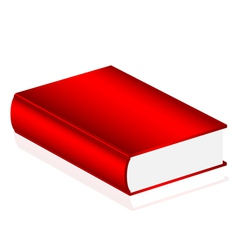 red book vector image vector image