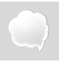Web Speech Bubble vector image