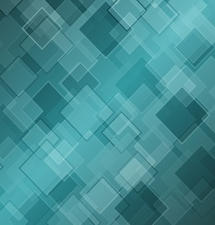 Abstract green background with rhombus vector