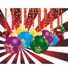 Christmas party theme vector image vector image