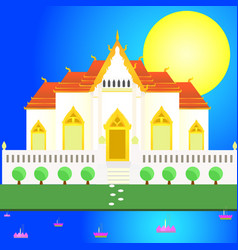 loy kratong vector image vector image