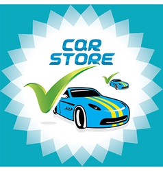 Car Accept Icons vector image