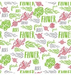 Flower seamless 2 vector