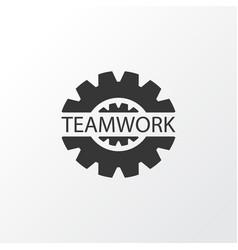 gear icon symbol premium quality isolated vector image