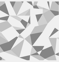 grey abstract geometric pattern vector image vector image