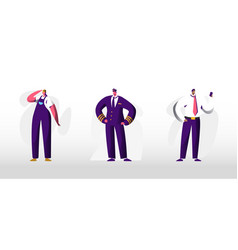 human profession occupation and job set isolated vector image