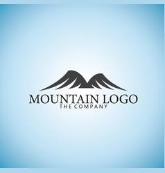 mountain logo ideas design vector image