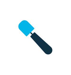 spatula icon colored symbol premium quality vector image