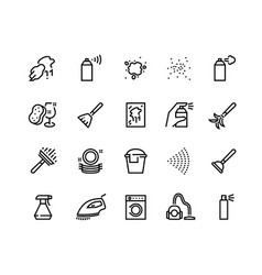spray black icons hand with spray disinfectant vector image