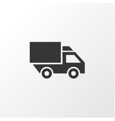 Truck icon symbol premium quality isolated van vector