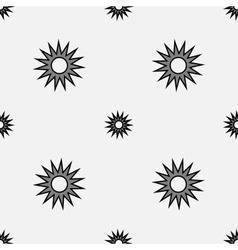 Stars geometric seamless pattern 1106 vector image vector image